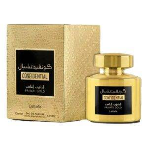 Parfum dama Confidential, Private Gold, 100ml